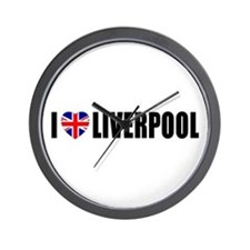 I Love Liverpool Wall Clock