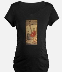 Confucius, Lao-tzu and Buddhist Maternity T-Shirt