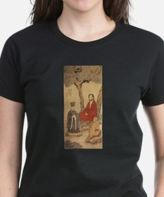 Confucius, Lao-tzu and Buddhist Arhat by D T-Shirt