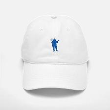 Schools Palmetto Moon Blue DISTRESSED Baseball Baseball Cap