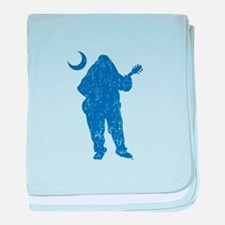 Schools Palmetto Moon Blue DISTRESSED baby blanket