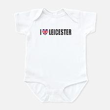 I Love Leicester Infant Bodysuit