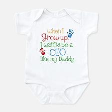Ceo Like Daddy Infant Bodysuit