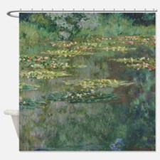 Waterlilies by Claude Monet Shower Curtain