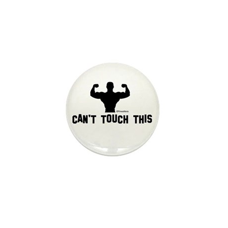 CAN'T TOUCH THIS Mini Button (10 pack)