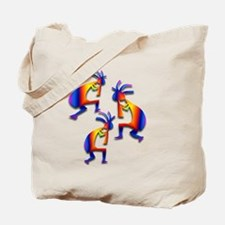 Three Kokopelli #19 Tote Bag