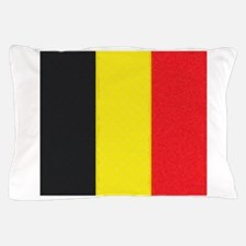 Belgium Flag Oil Painting Pillow Case
