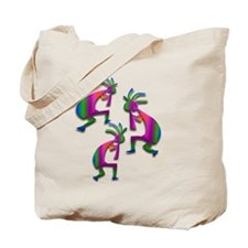 Three Kokopelli #20 Tote Bag