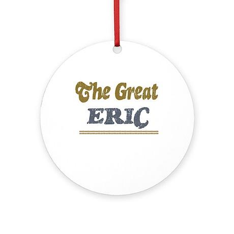 Eric Ornament (Round)
