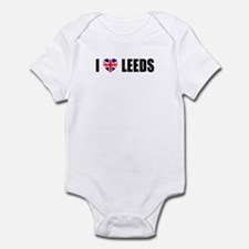 I Lvoe Leeds Infant Bodysuit
