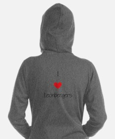I love Leonbergers Women's Hooded Sweatshirt