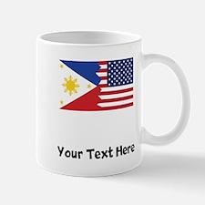 Filipino American Flag Mugs