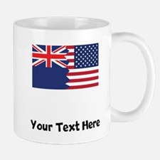 New Zealand American Flag Mugs