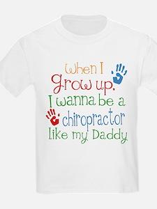 Chiropractor Like Daddy T-Shirt