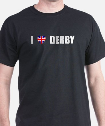 I Love Derby, England T-Shirt