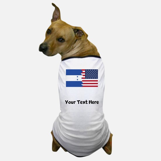 Honduran American Flag Dog T-Shirt