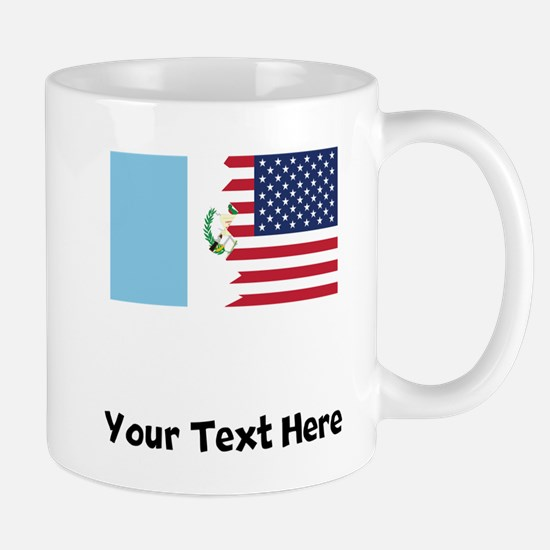 Guatemalan American Flag Mugs