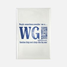 WG Intellectual Rectangle Magnet