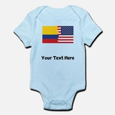 Colombian American Flag Body Suit