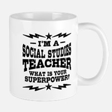 Funny Social Studies Teacher Mug