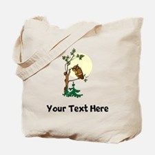Owl In Tree (Custom) Tote Bag