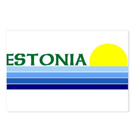 Estonia Postcards (Package of 8)