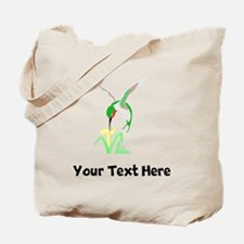 Green Hummingbird (Custom) Tote Bag