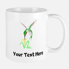 Green Hummingbird (Custom) Mugs