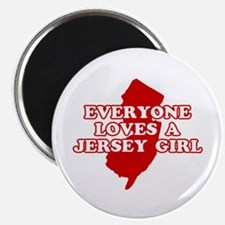 Everyone Loves a Jersey Girl Magnet