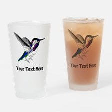 Hummingbird (Custom) Drinking Glass