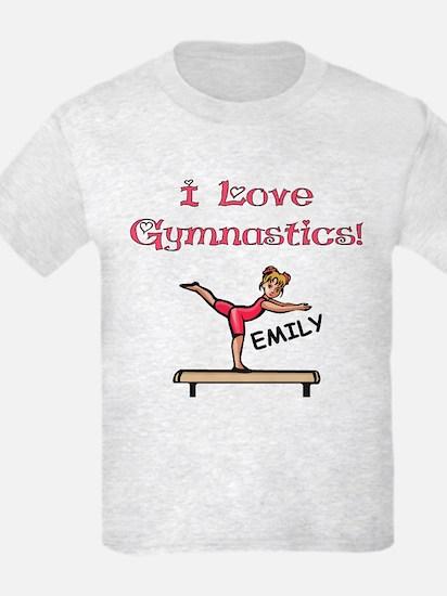 I Love Gymnastics (Emily) T-Shirt