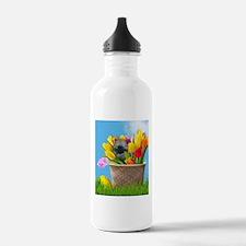 Easter Pomeranian Water Bottle