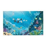 Tropical fish 3x5 Rugs