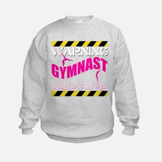 Warning_Gymnast Sweatshirt
