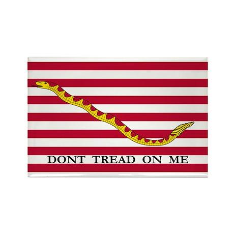 US Naval Jack flag Rectangle Magnet (10 pack)