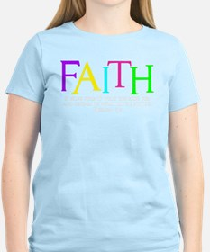 neon multi, Hebrew 11_1 T-Shirt