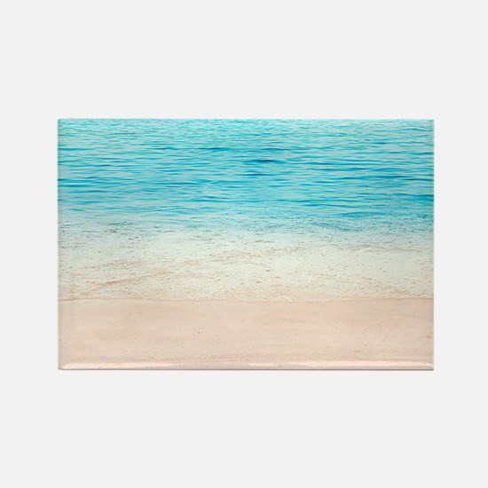 White Sand Beach Magnets