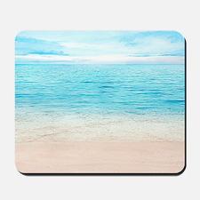 White Sand Beach Mousepad