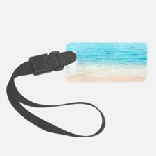 White Sand Beach Luggage Tag