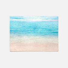 White Sand Beach 5'x7'Area Rug