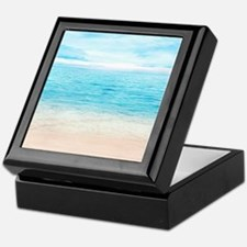 White Sand Beach Keepsake Box