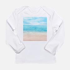 White Sand Beach Long Sleeve T-Shirt