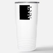 Cute Initialled Travel Mug