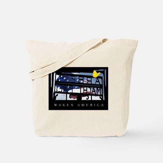 Waken America Tote Bag