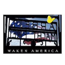 Waken America Postcards (Package of 8)