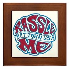 Rassle U Framed Tile