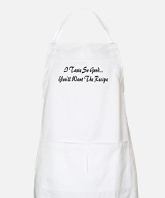 taste so good BBQ Apron