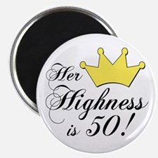 50th birthday gifts women Magnet
