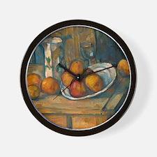 Still Life With Milk Jug, Cezanne Wall Clock