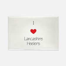 I love Lancashire Heel Rectangle Magnet (100 pack)